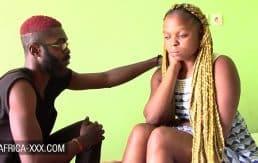 Blonde ebony amateur make up sex with boyfriend